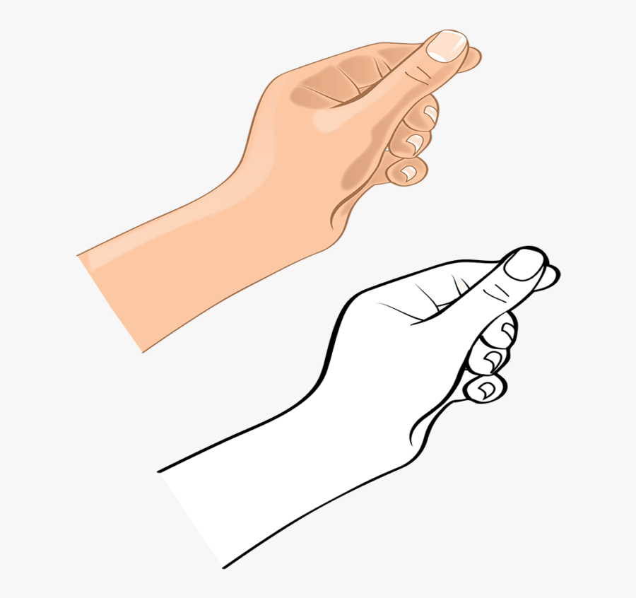 Hands Vector Hand Gesture - Drawing, Transparent Clipart
