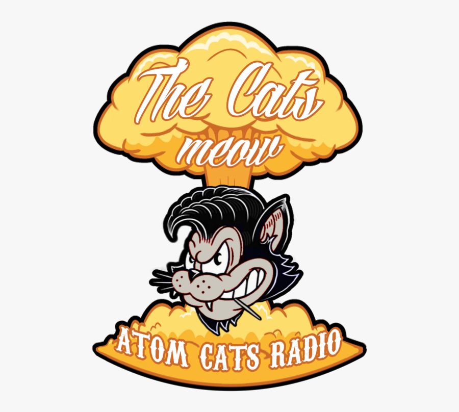 """The Cat""""s Meow Is Hosted By Rowdy Of The Atom Cats - Fallout 4 Atom Cats Logo, Transparent Clipart"""