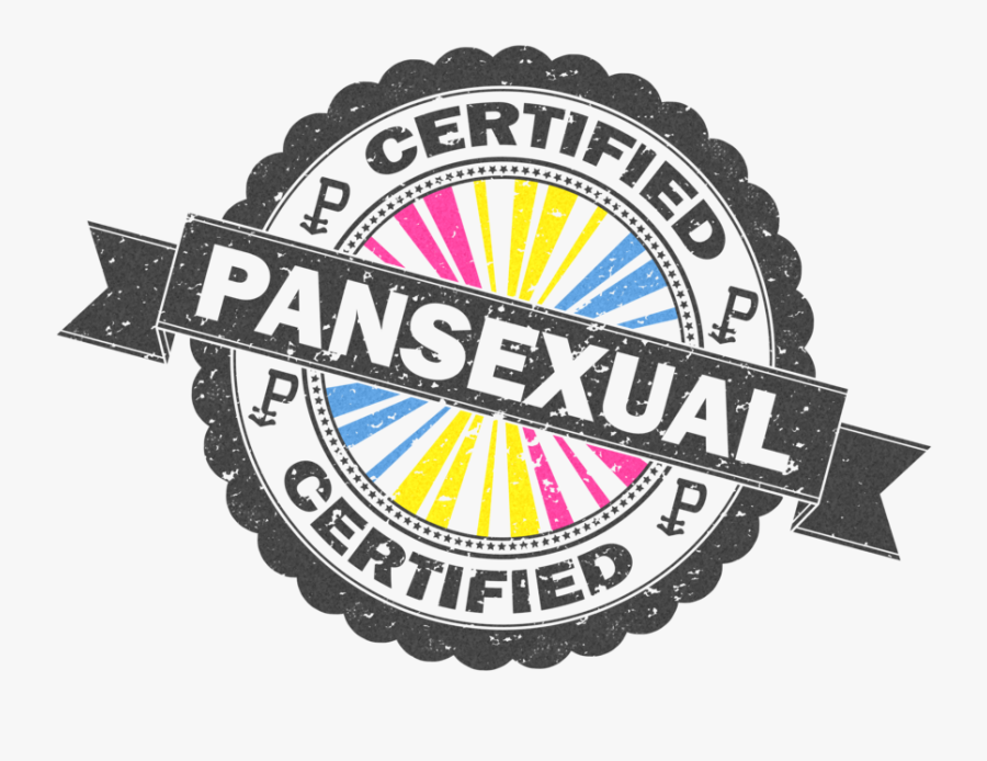 Pansexuality Logo Pansexual Pride Flag Image Portable - Certified Lesbian, Transparent Clipart