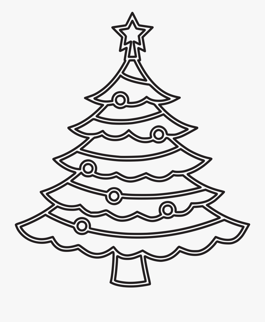 6 Clipart Christmas Christmas Tree Png Drawing Free Transparent Clipart Clipartkey