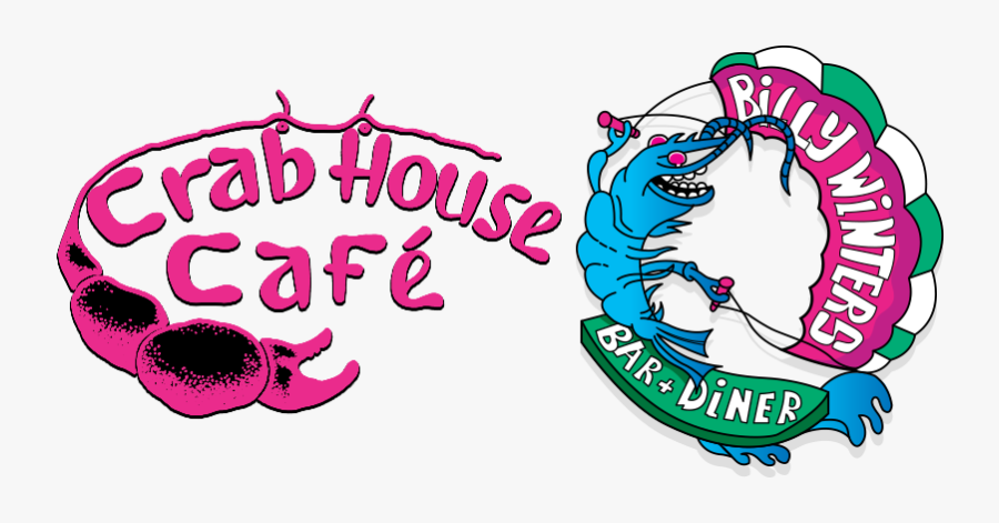 Crab House Cafe And Bill Winters Logo, Transparent Clipart