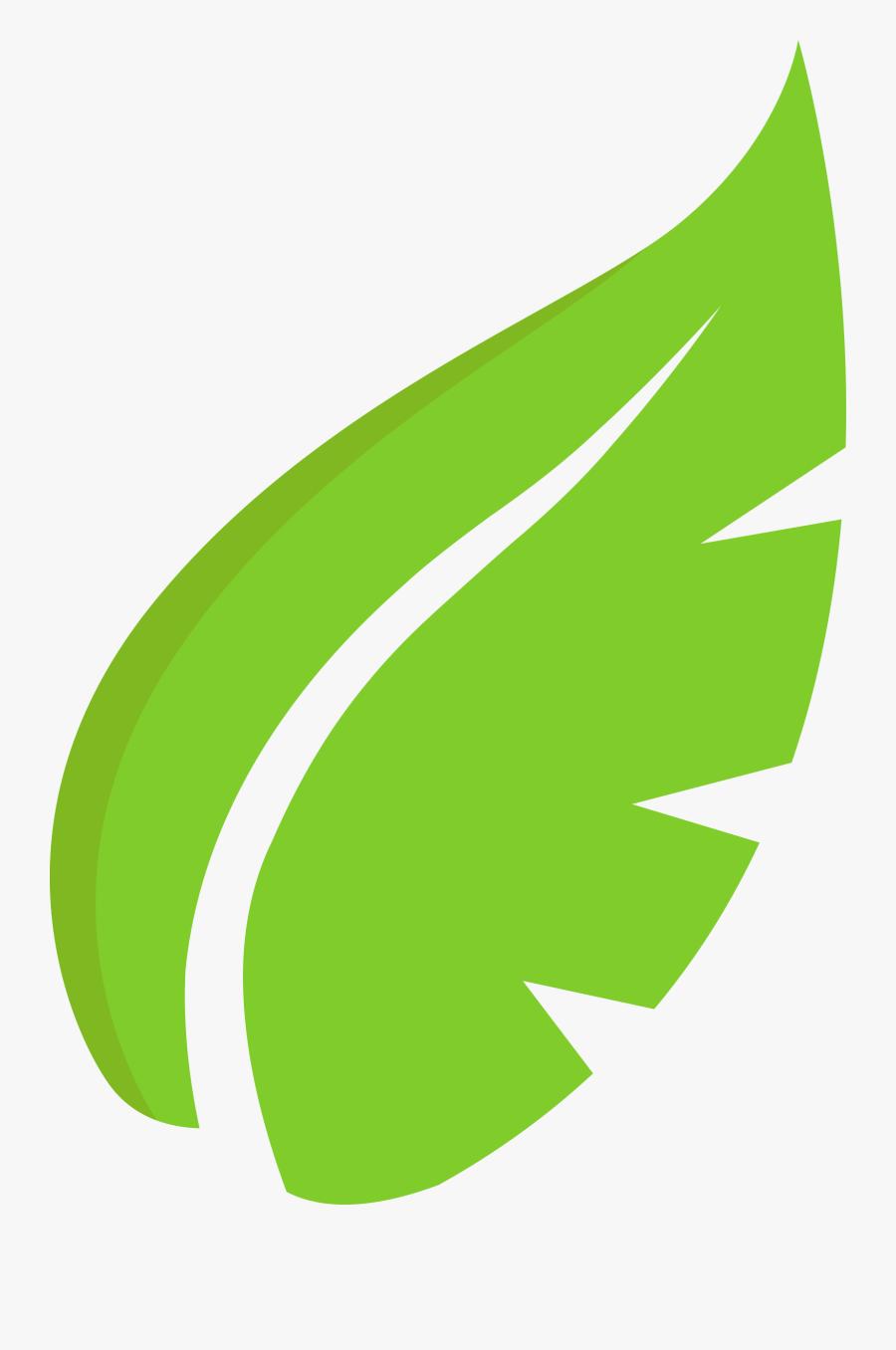 Hoja De Arbol Logo , Png Download - Green Leaf Draw Png, Transparent Clipart