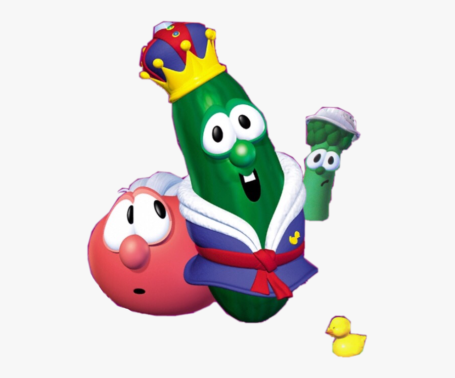 Http - //web - Archive - - //www - Bigideafun - Kinggeorge/wp - Veggie Tales Larry The Cucumber All, Transparent Clipart