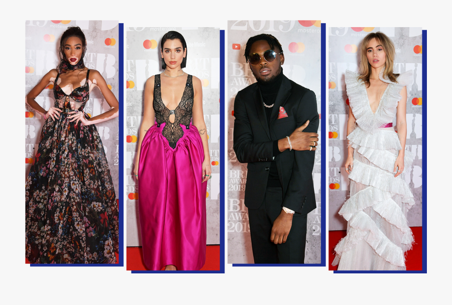 Best-dressed Stars From The 2019 Brit Awards Vanity - Best Dressed Brit Awards 2019, Transparent Clipart