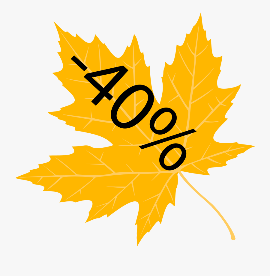 Fall Leaves Banner Png - United Party Of Canada, Transparent Clipart