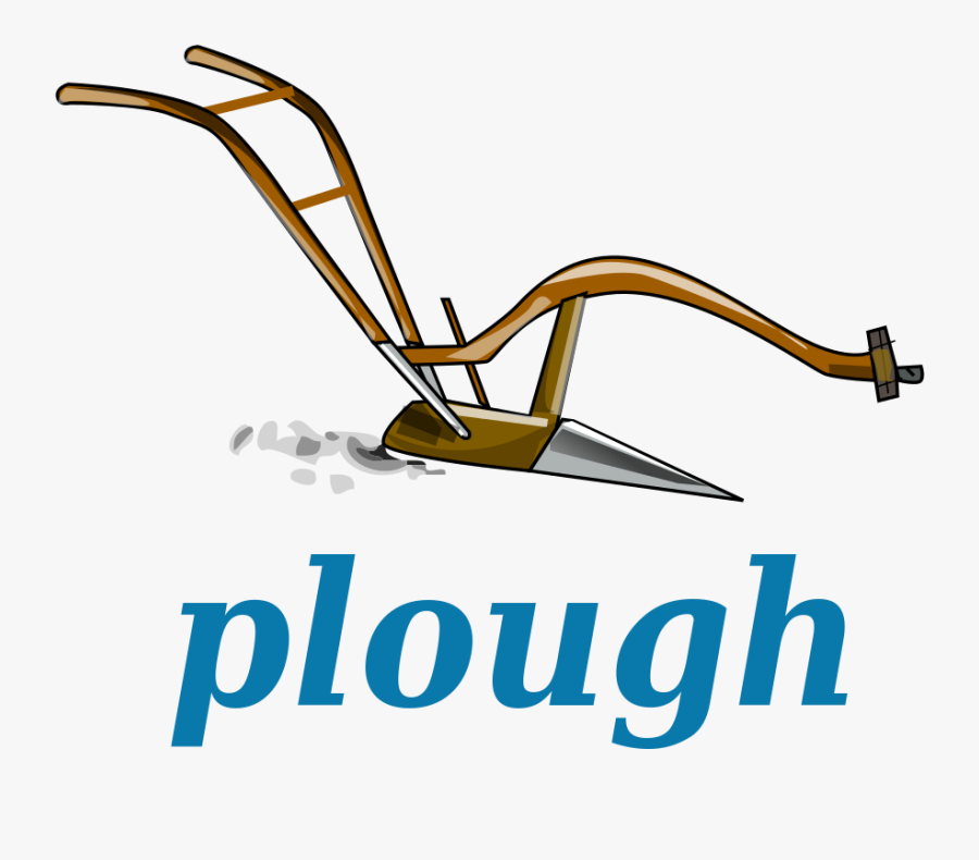 Cliparts For Free - Cartoon Picture Of Plough, Transparent Clipart