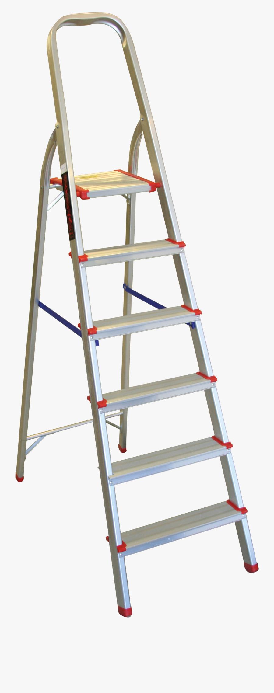 Ladder Clipart Short Ladder - Step Ladder With Transparent Background, Transparent Clipart
