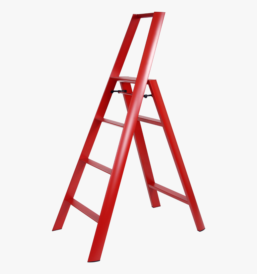 Transparent Ladders Png - Black Step Ladder, Transparent Clipart