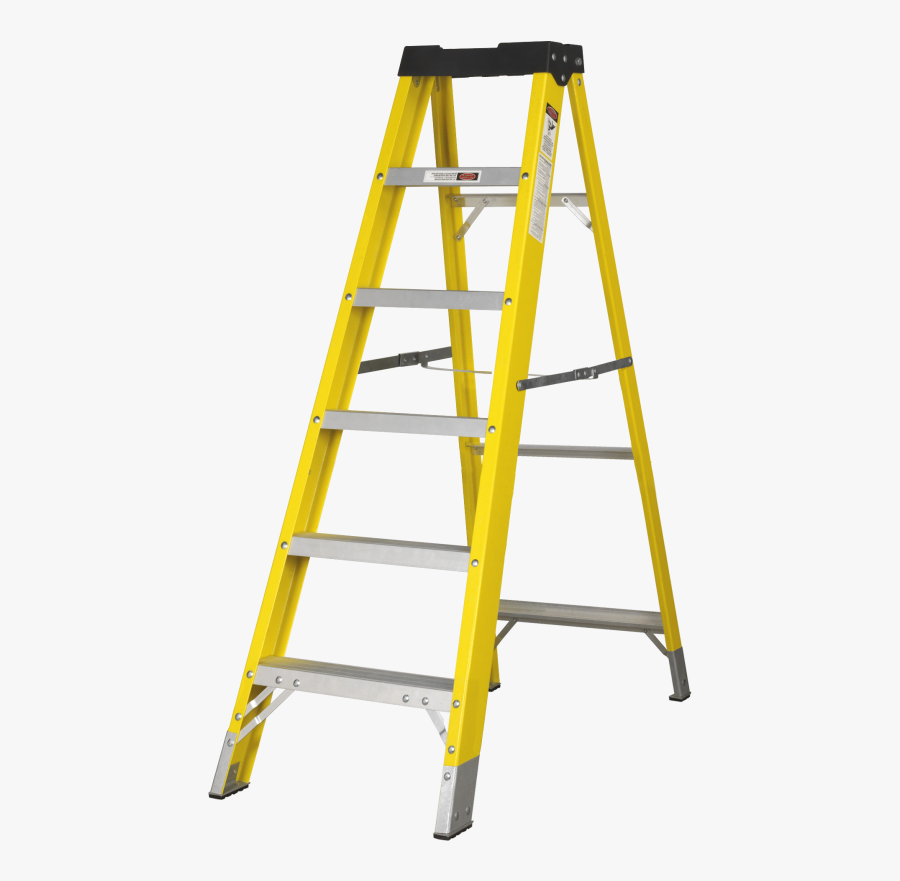 Transparent Ladders Png - Yellow Ladder Png, Transparent Clipart