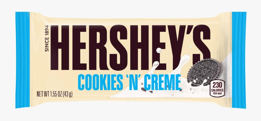 Cookies N Creme Hershey, Transparent Clipart