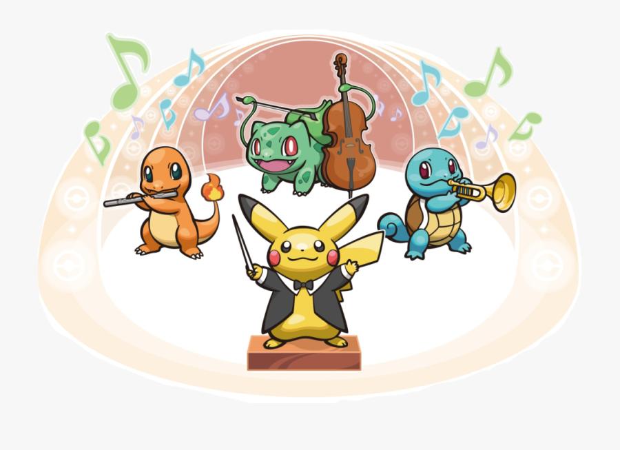 Pokemon Symphony, Transparent Clipart