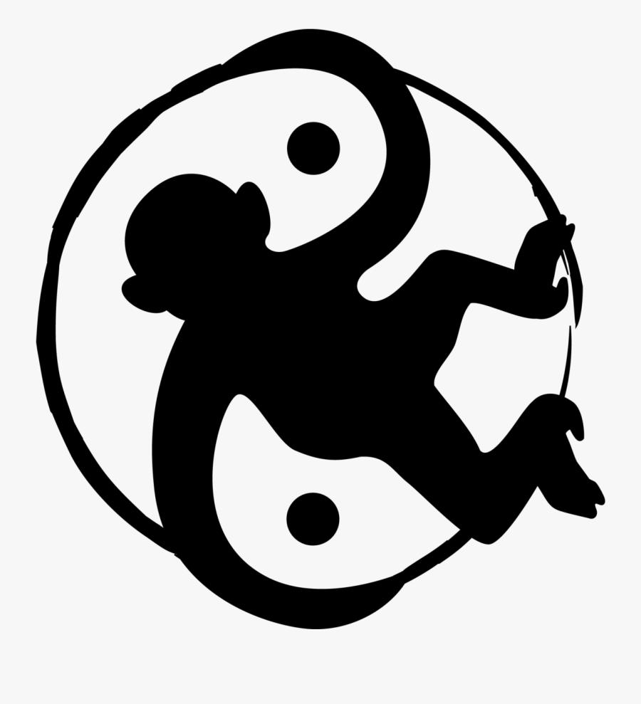 Space Monkey Logo Black - Portable Network Graphics, Transparent Clipart