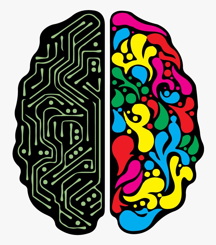 Creative Brain Png - Human Brain, Transparent Clipart