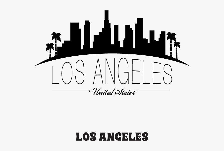 The City Of Los Angeles Has So Many World-famous Sites - Los Angeles City Drawings, Transparent Clipart