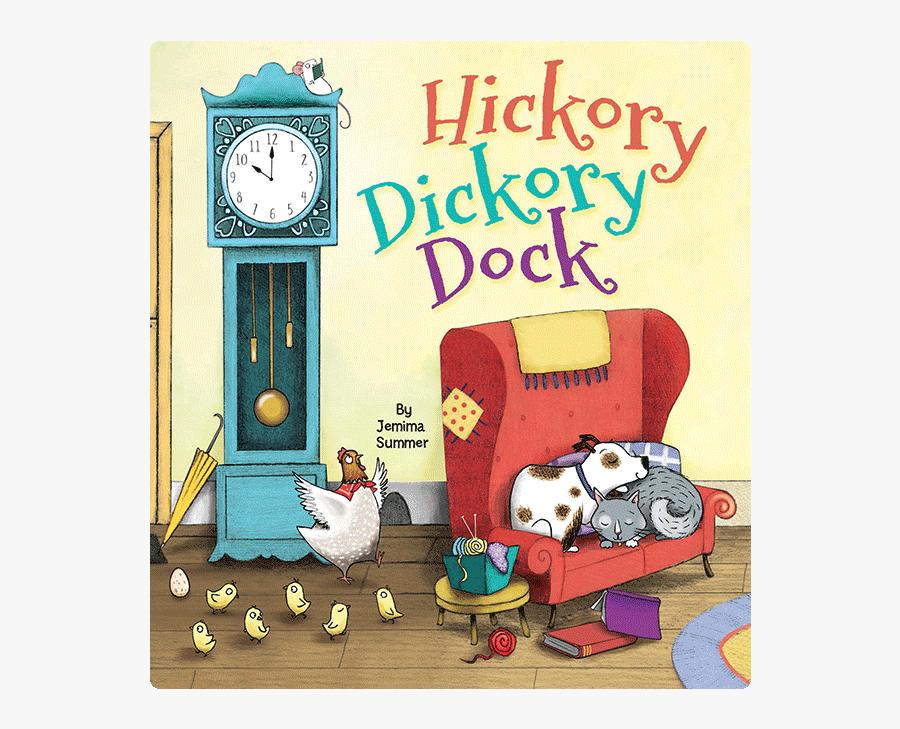 Hickory Dickory Dock, Transparent Clipart