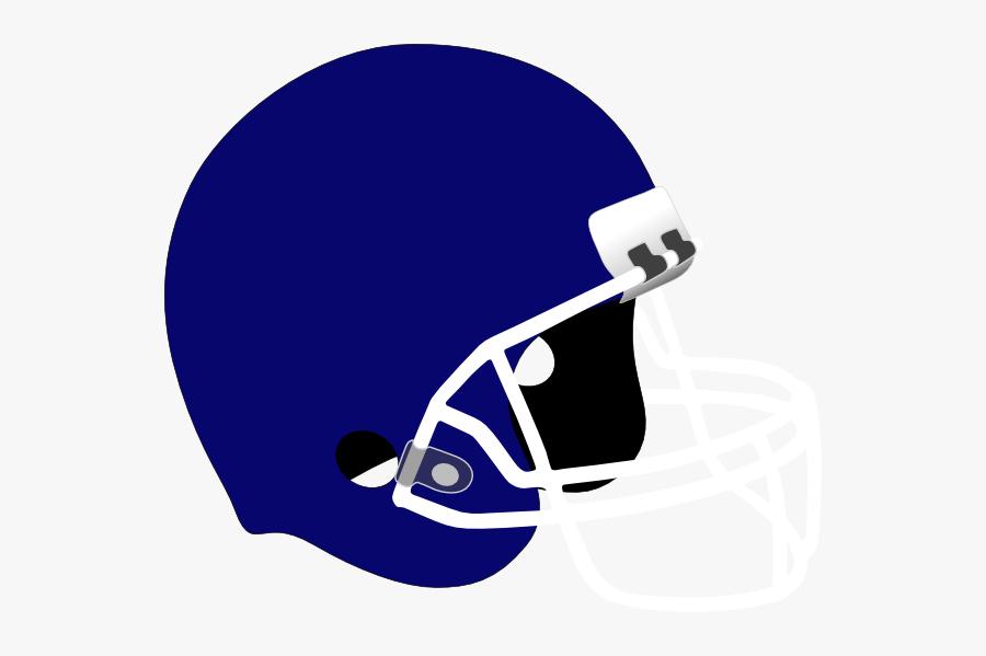 Football Helmet Clipart Png - Blue Football Helmet Clipart, Transparent Clipart