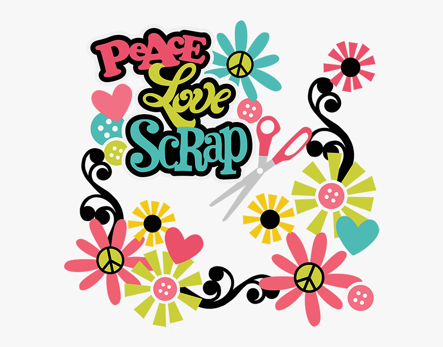 Peace Clipart Peace Love - Peace And Love Clip Art Png, Transparent Clipart