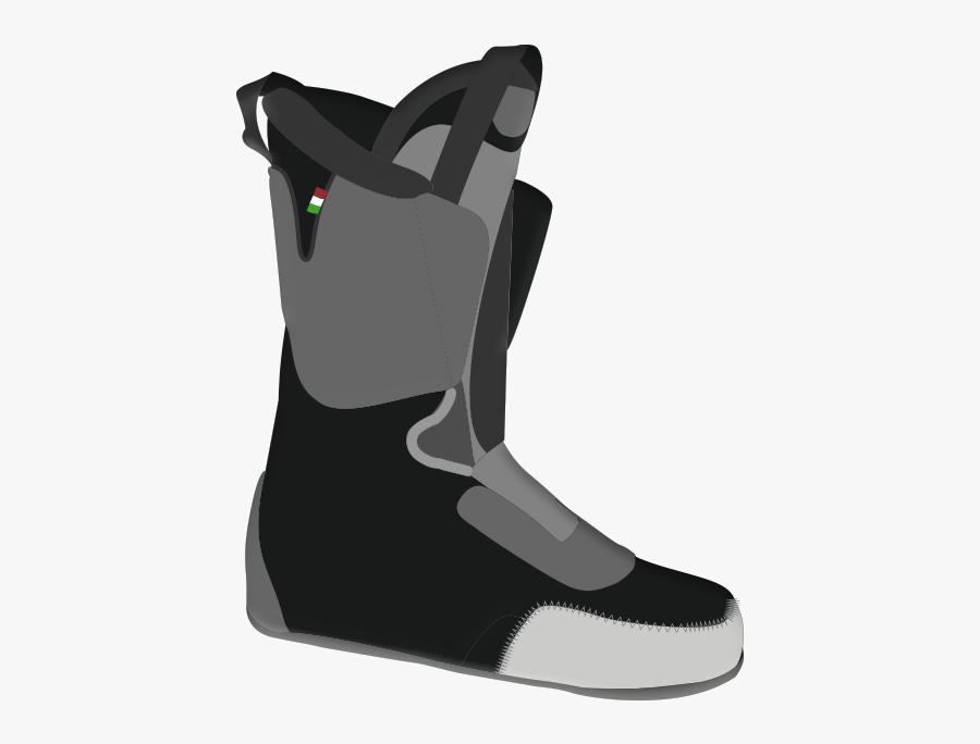 Mitten Clipart Boot - Snow Boot, Transparent Clipart
