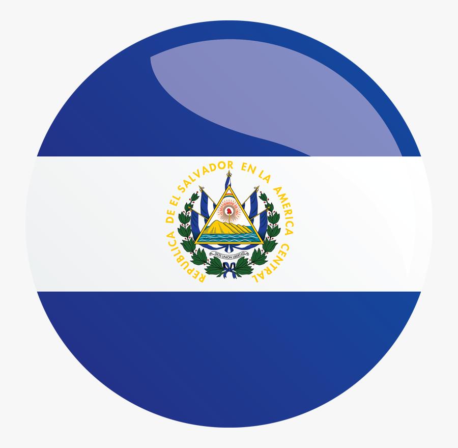 Transparent Icono De Telefono Png - El Salvador Flag Circle, Transparent Clipart