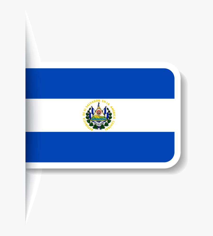 Envío De Carga A - Salvador Flag, Transparent Clipart