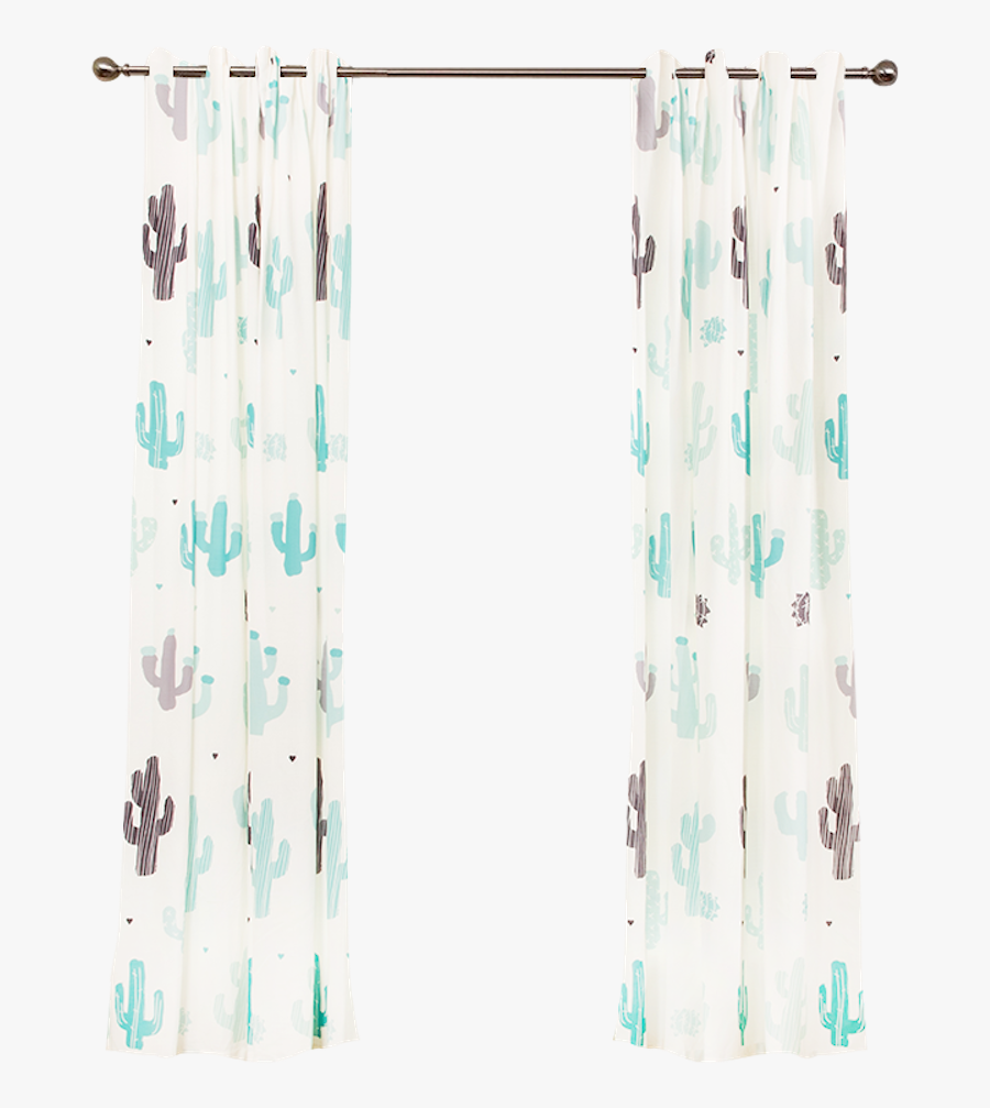 Transparent Window With Curtains Clipart - Room, Transparent Clipart