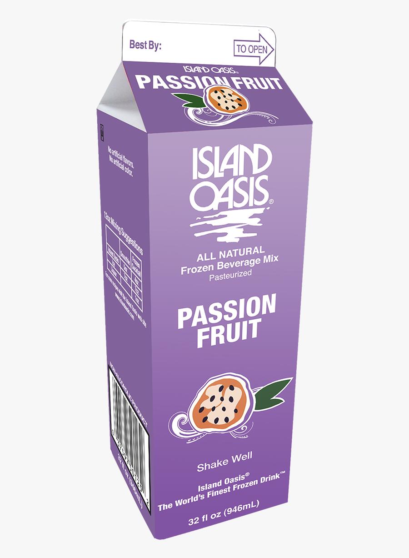 20021 Io Passion-fruit 32 Oz Carton - Biscuit, Transparent Clipart