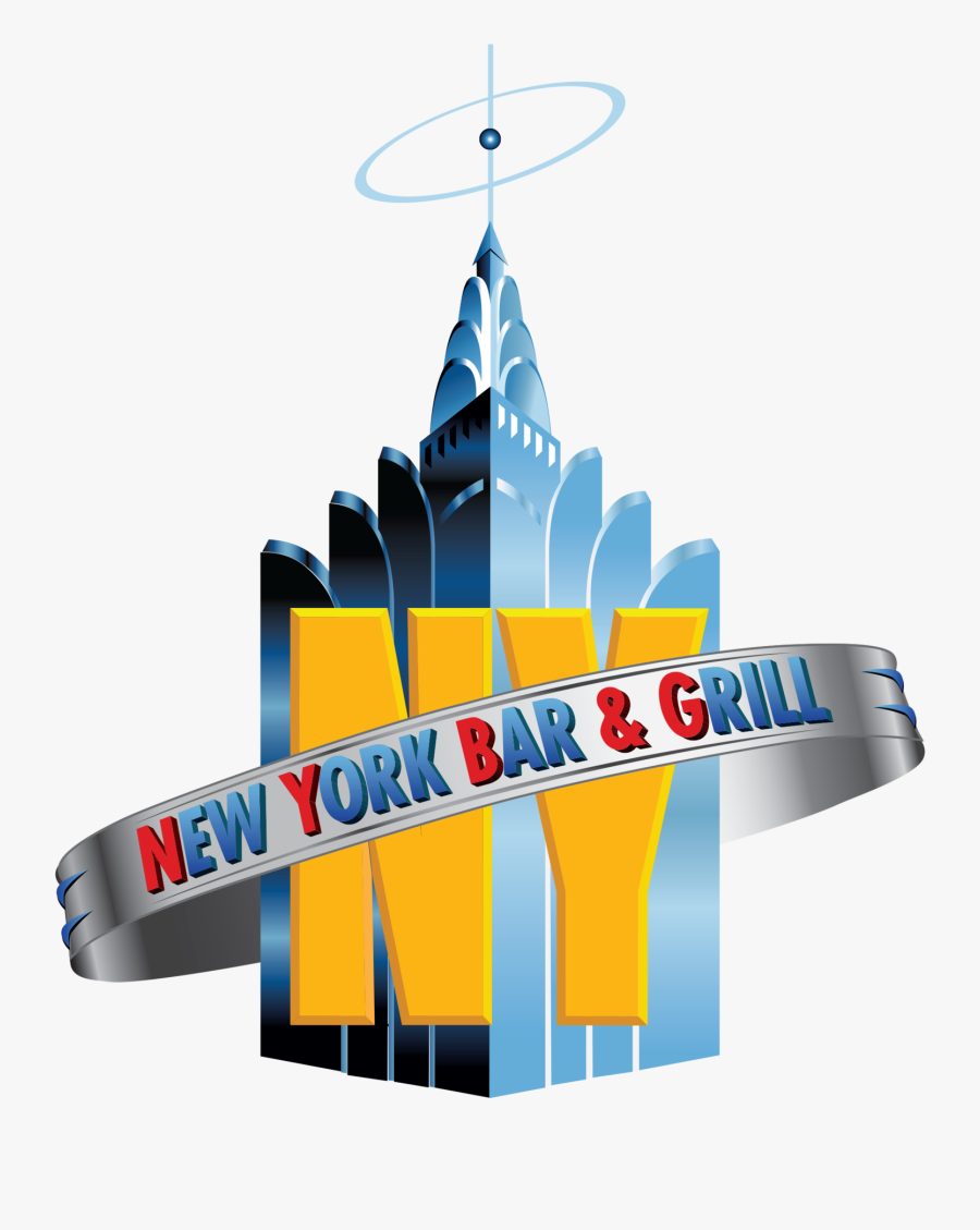 New York Bar Grill - Graphic Design, Transparent Clipart