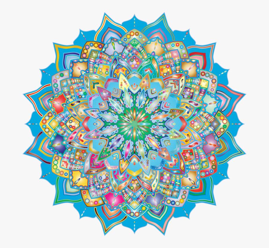 Mandala Art Vector Png, Transparent Clipart