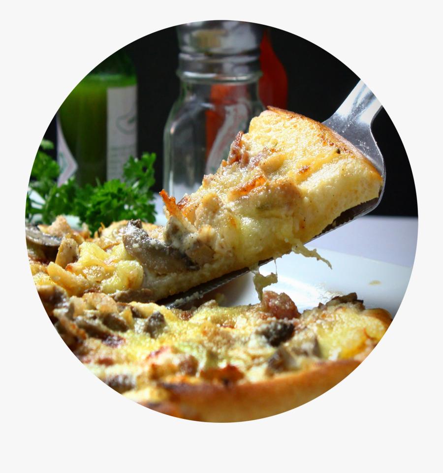 Pizza Saint Jacques Truffé, Transparent Clipart
