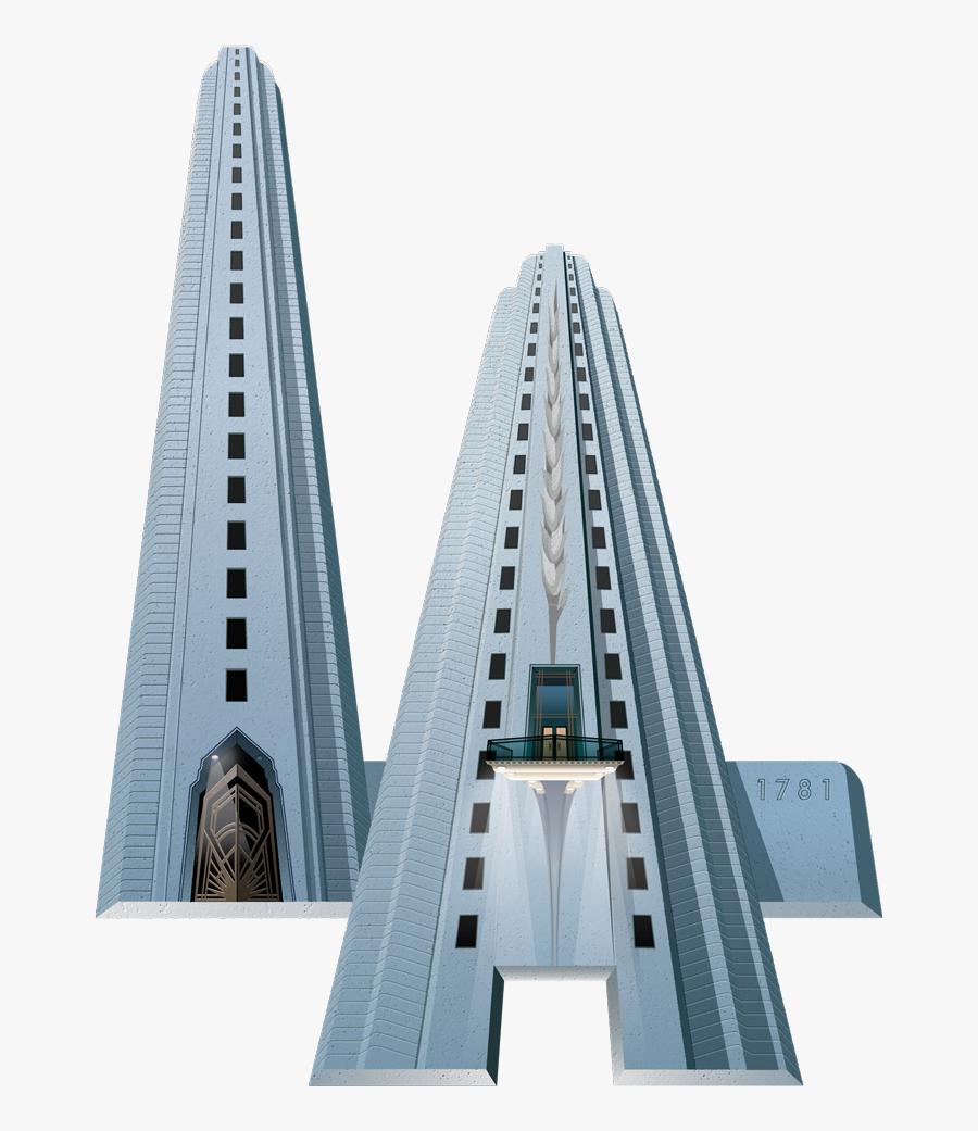 Illustrations Moving Pixel Media Prev Next - Tower Block, Transparent Clipart