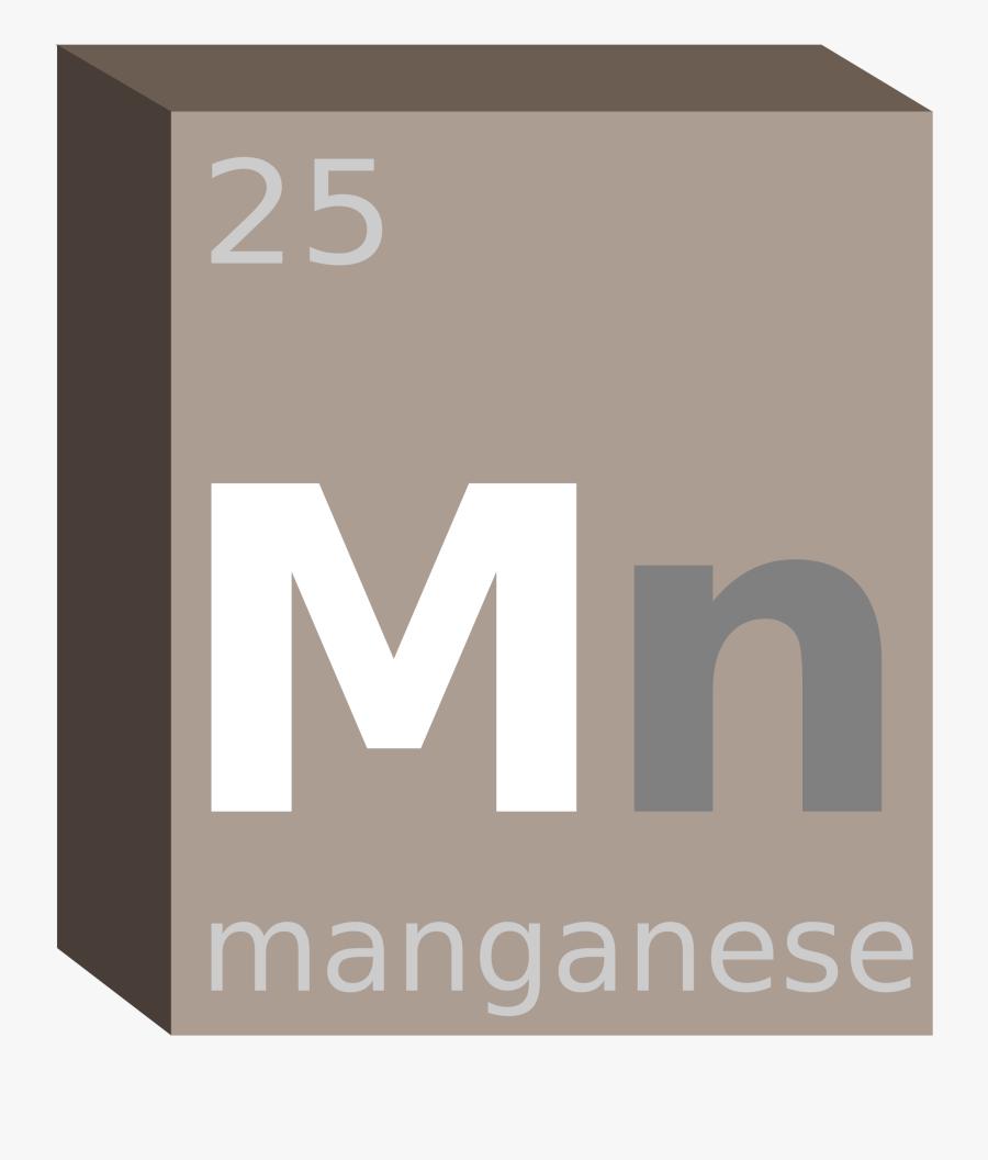Manganese Block- Chemistry Clip Arts - Box, Transparent Clipart