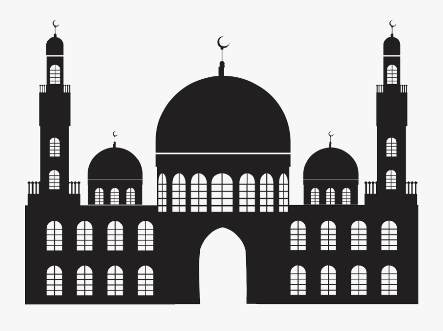 Islamic Masjid Vector Png Transparent - Transparent Background Mosque Icon, Transparent Clipart