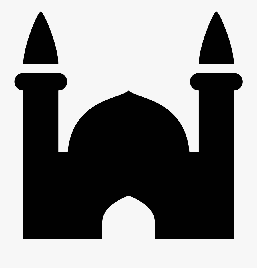 Mosque Icon Royalty Free Cliparts, Vectors, And Stock - Symbol Of Mosque In Map, Transparent Clipart