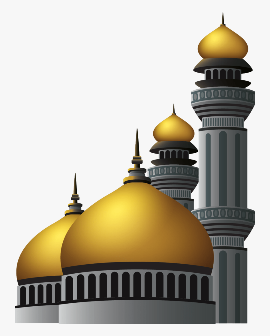 Masjid Png Vector - Masjid Vector Png, Transparent Clipart