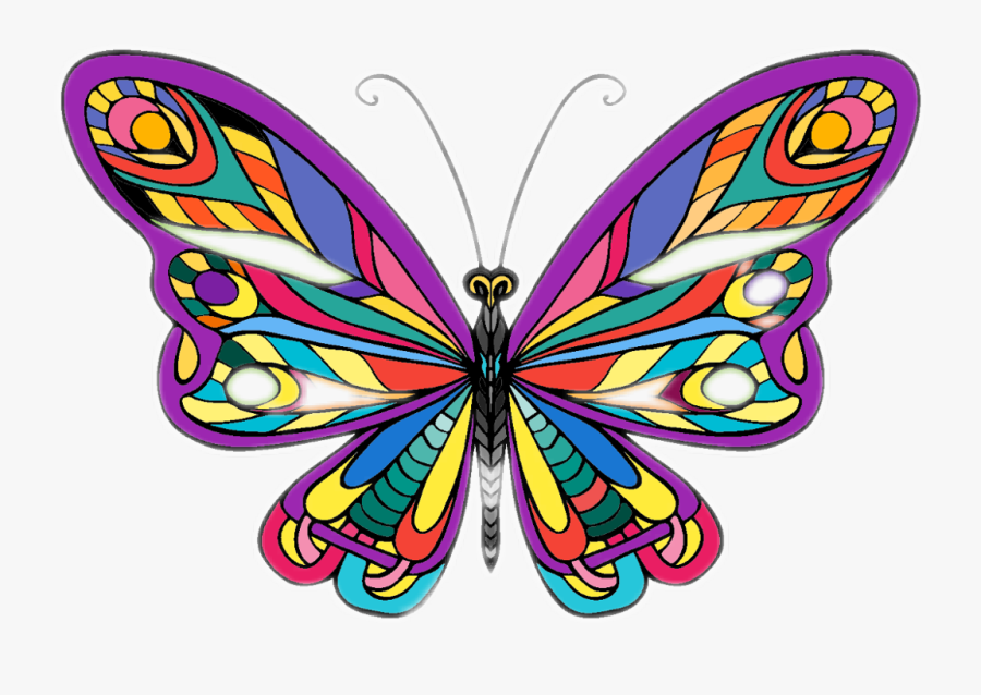 Brush-footed Butterfly Clipart , Png Download - Brush-footed Butterfly, Transparent Clipart