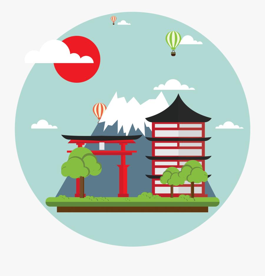Japan Clipart Fuji Clipart - Japan Clip Art Free, Transparent Clipart