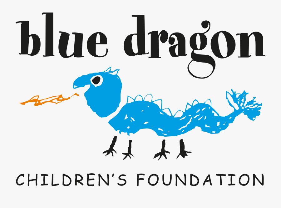 Blue Dragon Foundation Logo, Transparent Clipart