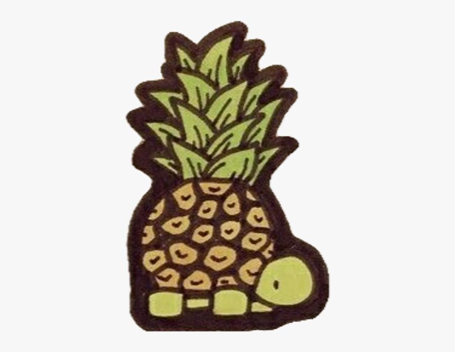 Scturtle Pineappleturtle Cute Freetoed - Cute Pineapple Turtle, Transparent Clipart