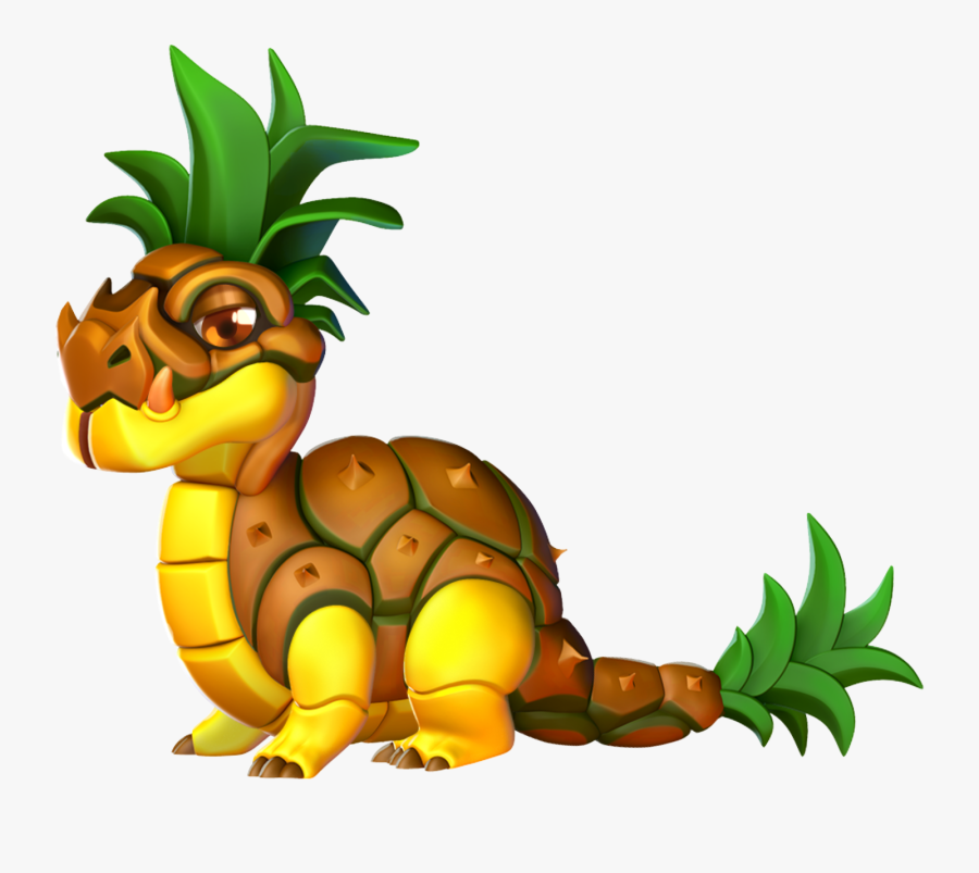 Pineapple As A Dragon Clipart , Png Download - Pineapple As A Dragon, Transparent Clipart