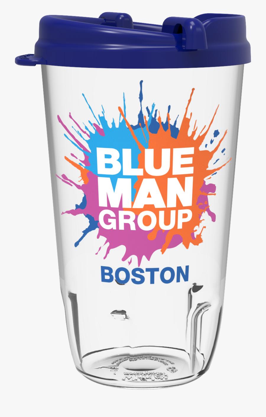 20oz Flashing Tumbler - Blue Man Group Berlin Logo, Transparent Clipart