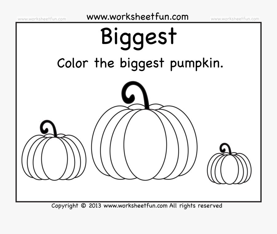 Pumpkin Worksheets / Free Printable Worksheets Worksheetfun - Preschool  Printable Halloween Worksheet , Free Transparent Clipart - ClipartKey