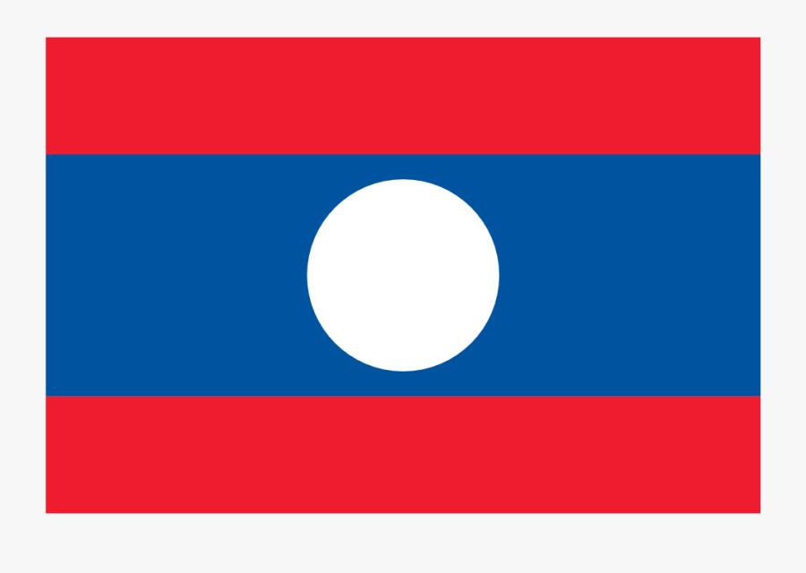 Countries Flag Laos Suparedonkulous Flagartist - National Flag Of Laos, Transparent Clipart