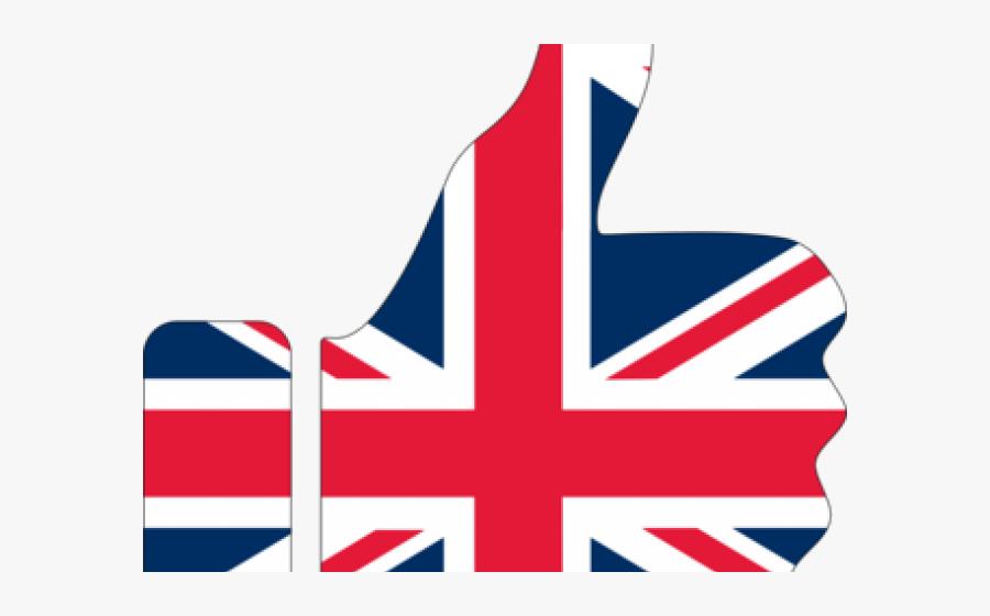 Union Jack Clipart Border - United Kingdom Flag Transparent, Transparent Clipart