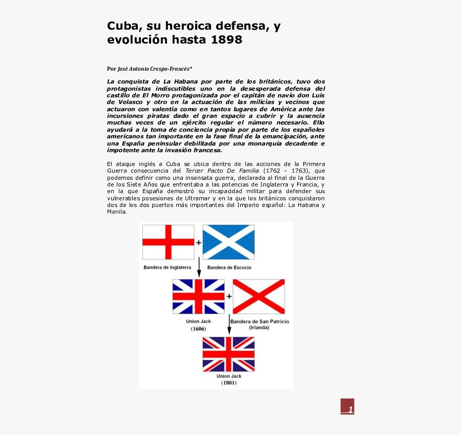 Transparent Union Jack Clipart - Union Jack Composition, Transparent Clipart
