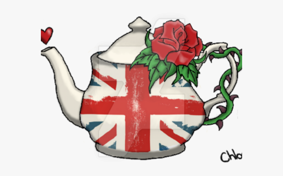 Transparent Agreement Clipart - Union Jack Rose Tattoos, Transparent Clipart