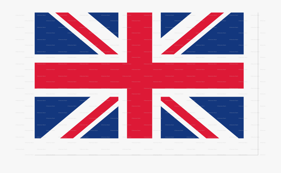 Printable Union Jack Bunting - Manchester Uk Flag, Transparent Clipart