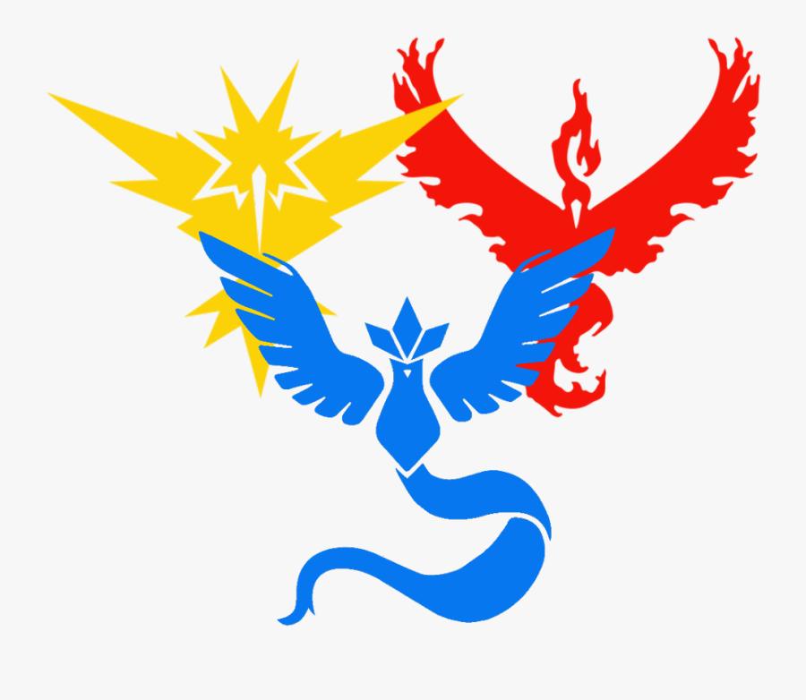#pokémon, #pokemon Go, #instinct, #mystic, #valor - Pokemon Go Red Team, Transparent Clipart