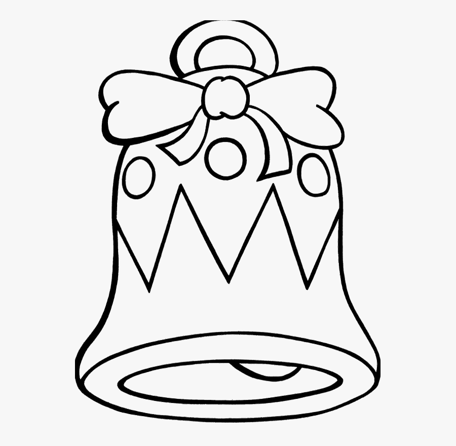 Printable Christmas Bell Coloring Pages Christmas Coloring - Free Christmas Bell Coloring Pages, Transparent Clipart
