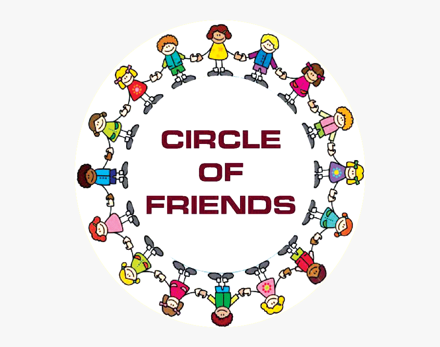 Clip Art Circle Of Friends Images - Holding Hands Around The World, Transparent Clipart