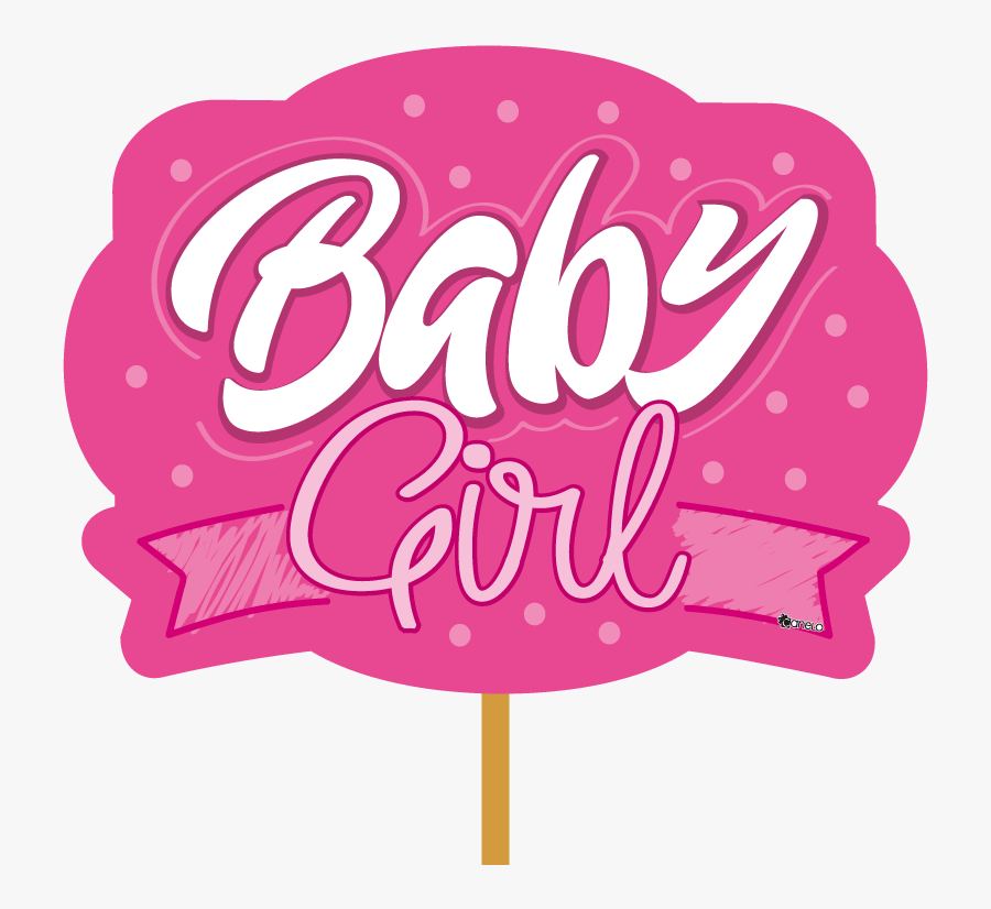 Transparent Pink Baby Shower Clipart - Girl Baby Shower Png, Transparent Clipart